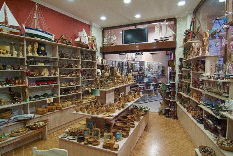 Sidari Shopping Shops Stores Gifts Presents Souvenirs
